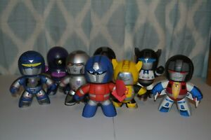 Hasbro Mighty Muggs Transformers LOT of 8 SHOCKWAVE SOUNDWAVE BUMBLEBEE OPTIMUS