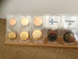 Série UNC 8 pièces Finlande 2008