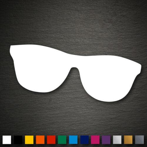 14091 Nerd Brille Aufkleber 52x145mm Hipster Nerdbrille Sticker Auto Car JDM DUB