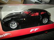 1:18 Hot Wheels Ferrari FF negro/Black OVP