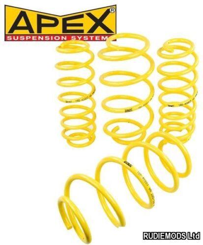Apex PEUGEOT 306 2.0HDi//XSI//GTI//Rallye 30 mm Lowering springs