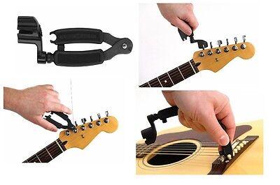 guitar pro string winder and cutter restringing tool for acoustic instruments ebay. Black Bedroom Furniture Sets. Home Design Ideas