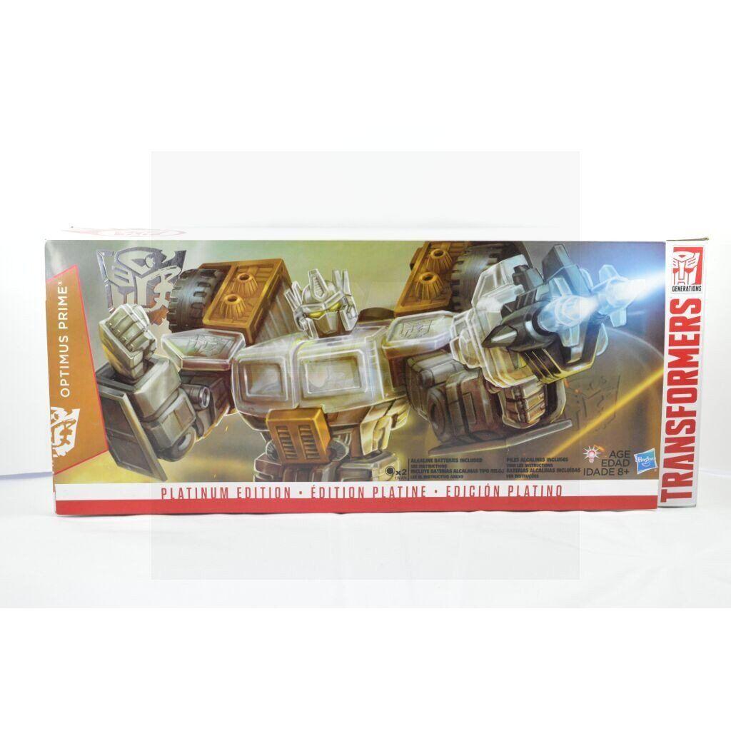 Transformers Generations Platinum Edition Optimus Prime