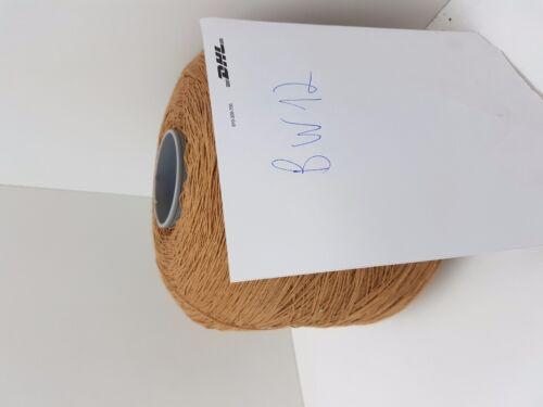 Wolle Garn Stricken /& häkeln Kone 100/% baumwolle braun 1,2kg//Nm 7//1 Cotton bw12
