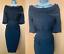 KAREN-MILLEN-UK-12-Black-Embroidered-Jacquard-Pleated-Neckline-Pencil-Dress-EU40 thumbnail 1