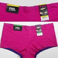 Maidenform Panties Size M 6 L7 Magenta Pink Solid Boyshorts Comfort Devotion