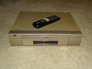 JVC-HR-S9600-High-End-S-VHS-Videorecorder-Fernbedienung-2J-Garantie