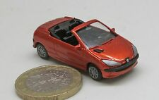 PKW P002:   Peugeot 206 CC,  .zeus orange met