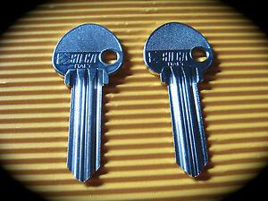 "INGERSOLL Keyblank Pair-Silca, Key Blank ING5 ""S"" Profile"