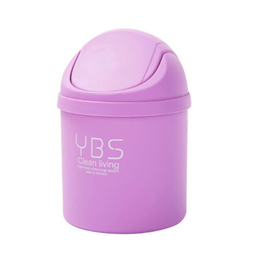 Mini Small Waste Bin For Desktop Garbage Baskets Table Home Offices TrashCansRDR