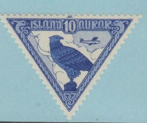 ICELAND-C3-AIRMAIL-MINT-NEVER-HINGED-OG-NO-FAULTS-EXTRA-FINE