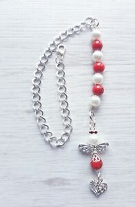 CAR MIRROR CHARM LUCKY CAR CHARM WITH HANGING CHAIN