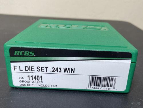 RCBS Fl Die Set 243 Win 11401