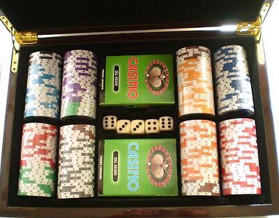 Fiches poker Dal negro Pkp 150 200 gettoni per giochi di carte chips euro 170