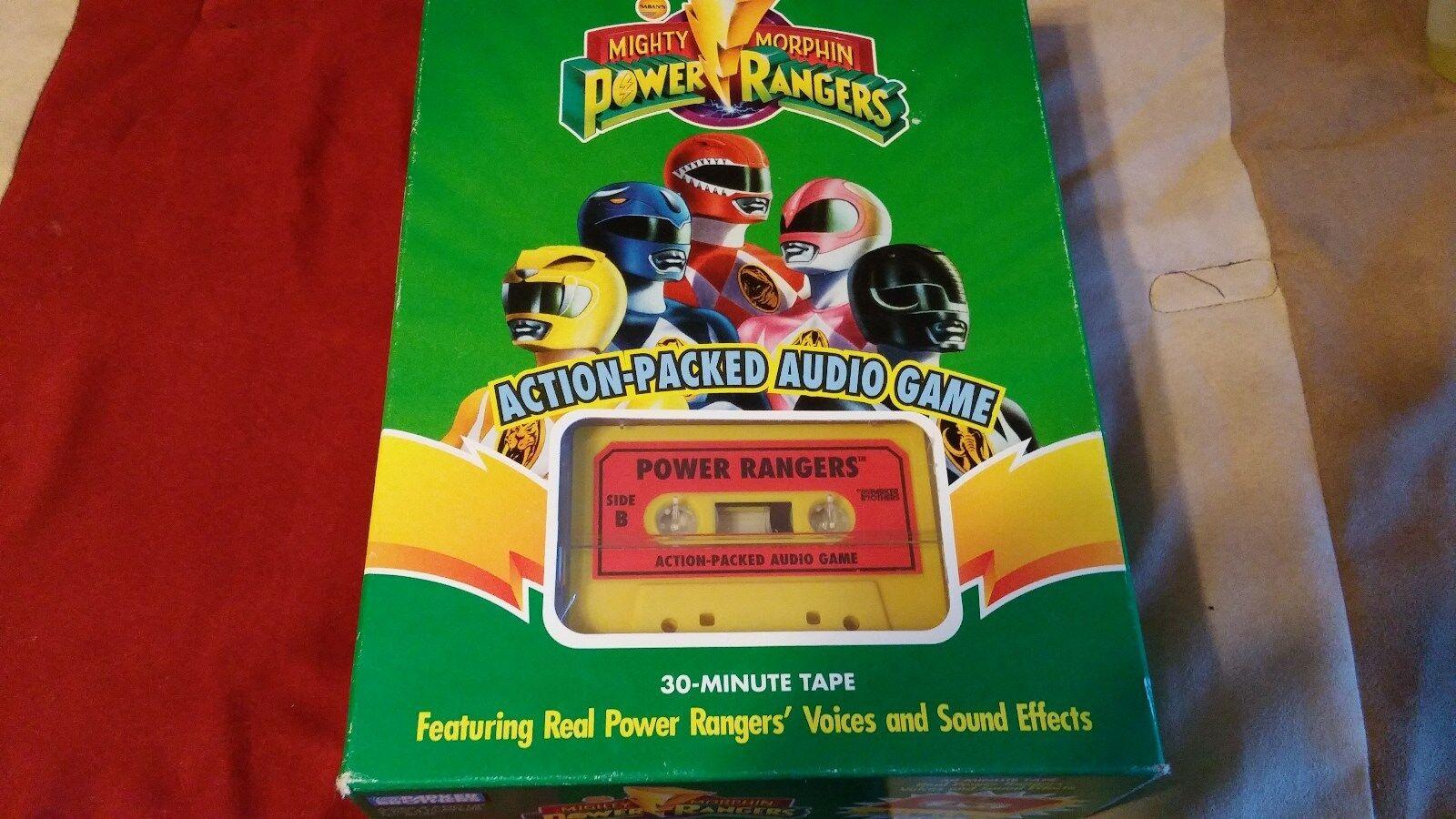 Vintage Mighty Morphin Power Rangers Audio Juego