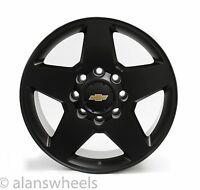 """4 Chevy Silverado Hd 2500 3500 8 Lug 8x180 20"""" Black Gbt Wheels Rims Lugs 5503"""
