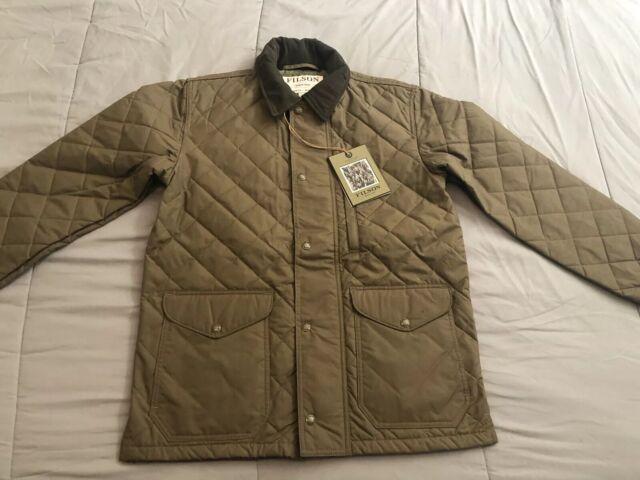 Filson Quilted Mile Marker Jacket Coat Size S Nwt Msrp 450 Marsholive Limited