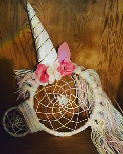 Unicorn-dream-catcher-A-unique-beautiful-gift-for-any-age-25x28cm-approx
