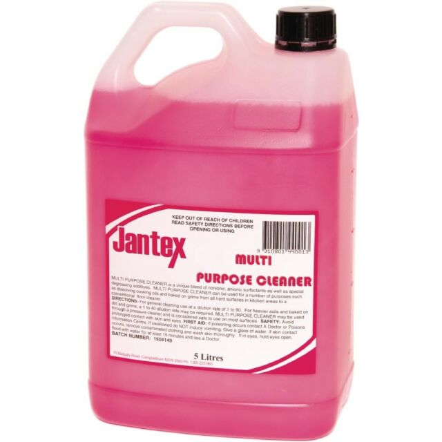 Jantex Multi Purpose Cleaner 5Ltr | Kitchen Degreasing Cleaning