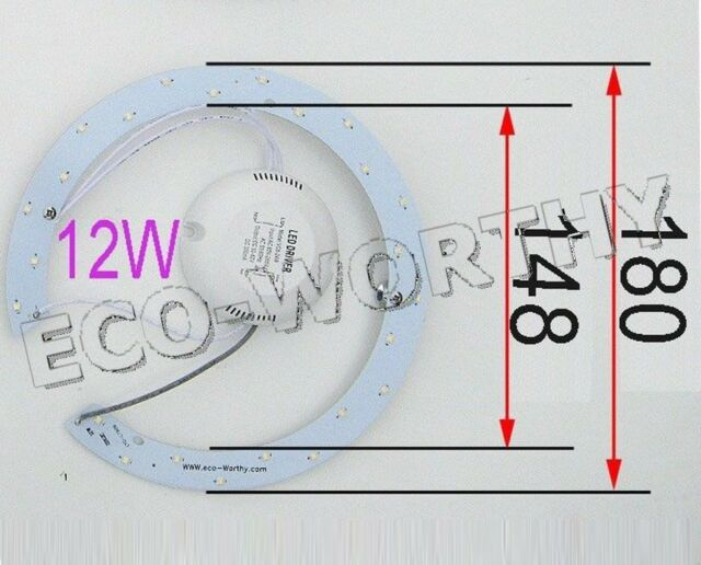 12W 15W 18W 24W 33W LED Ceiling Light Chip Lamp & Magnet  85-265V AC Cool White