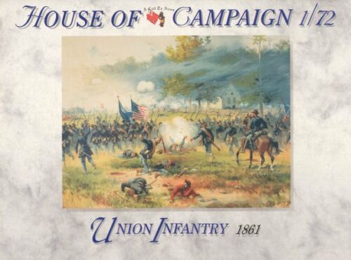 A Call To Arms 1//72 American Civil War Union Infantry # 55