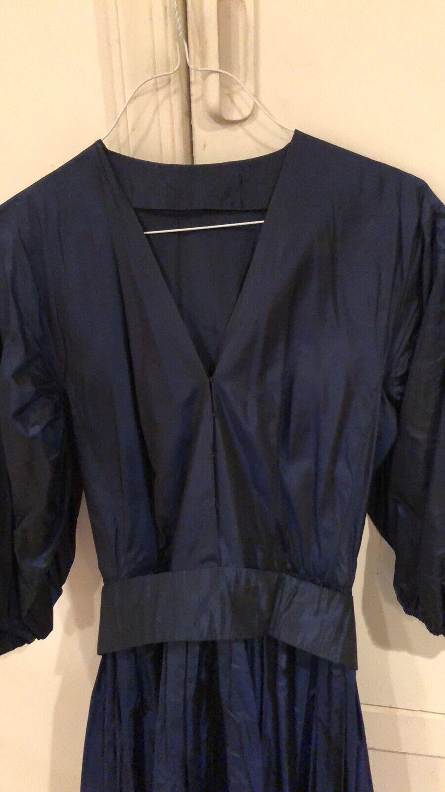 Vintage, Pauline Trigere silk dress - image 4