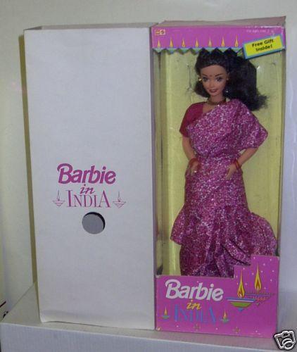 Raro en Caja Original Mattel Barbie en la India tema extranjeros Leo Muñeca De Moda