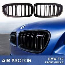 BMW 5-Series F10 F11 Painted Glossy Black Front Grille Kidney 2016 M5 528i