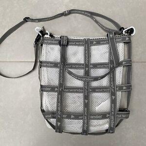 and Wander JQ Tape Shoulder Bag - White