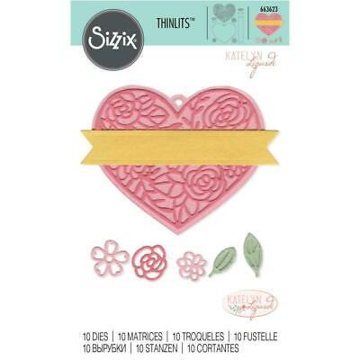 Sizzix Thinlits Pinara Box set #662772 Retail $19.99 by Katelyn Lizardi SWEET!