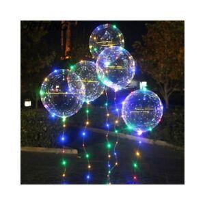 Re18k kit palloncino pvc filo led luminoso luce elio for Luci tubolari a led