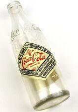 Coca-Cola Coke Glas Flasche USA Bottle 1978 - 1979 Houston Cola Clan Convention