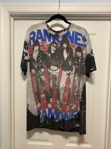Vintage Ramones Mosquitohead Shirt Tee T-Shirt XL