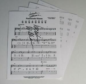 LUCINDA-WILLIAMS-Signed-Autograph-034-Passionate-Kisses-034-Sheet-Music