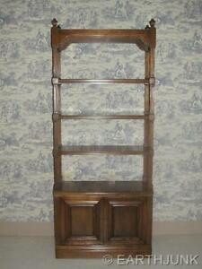 Ethan Allen Etagere Classic Manor Maple Collection Wall