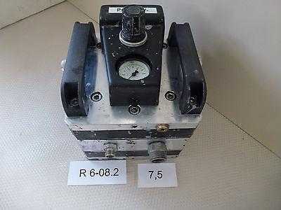 Devilbiss Lux 491-2t, Doppelmembranpumpe Fördermenge Bis 20 Liter/min.
