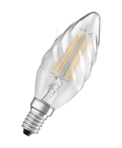 Osram LED RETROFIT BW40 E14 Filament Kerzenform 4W 2700K 470 Lumen wie 40W