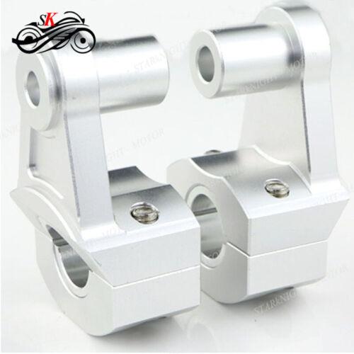 Universal CNC Motorcycle 28MM or 22mm HandleBar Handle Mount Clamps For Kawasaki
