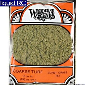 Coarse Turf Scatter Burnt Grass Woodland Scenics Code T62 for sale online