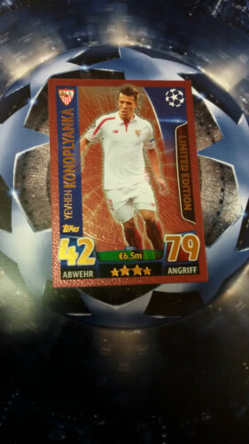 Topps Ligue des champions Match Attax 2015 2016 Limited Edition ronaldo messi Gold