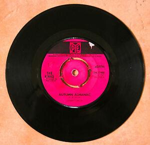 """""""AUTUMN ALMANAC"""" - THE KINKS , 7"""" VINYL SINGLE 1967 - VG  COND. - España - """"AUTUMN ALMANAC"""" - THE KINKS , 7"""" VINYL SINGLE 1967 - VG  COND. - España"""