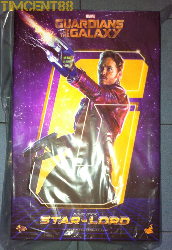 Ready Hot Toys MMS255 Guadrians of the Galaxy 1 6 Star-Lord Chris Normal