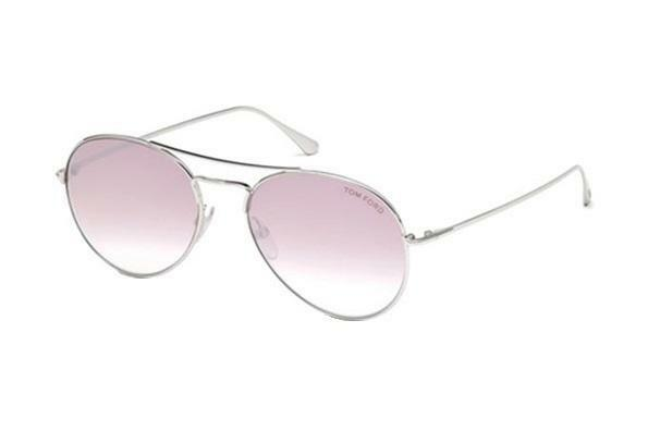 69d51e33d8 Tom Ford Ft0551 18z 55 Rhodium Shiny Silver Mens Womens Sunglasses Glasses  for sale online