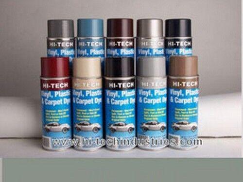 Gray Hi-Tech Industries HT-440 Vinyl Plastic /& Carpet Dye