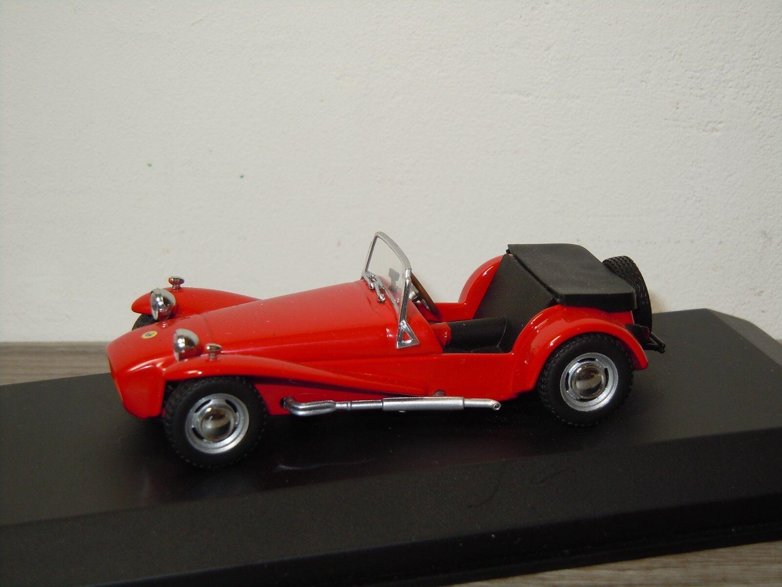 Lotus super seven 1968 - minichamps 1 43 in kasten  30638