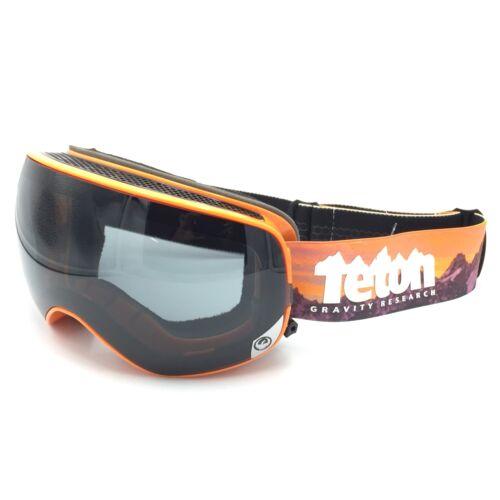 Dragon Alliance X2S Snow Goggles Teton Gravity Orange TGR Collab