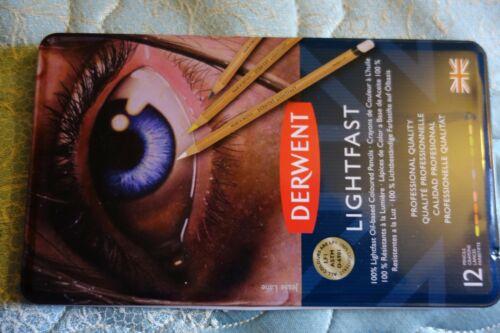 Derwent 12 Lightfast Color Pencils..