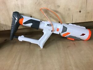 Nerf-Rocket-Launcher-Attachment-Stock-Top-White-Grenade-Launcher-Air-Pump