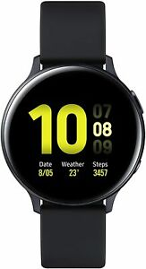 SAMSUNG Galaxy Watch Active2 Aluminium SM-R830 44mm, Aqua Black NEU & OVP