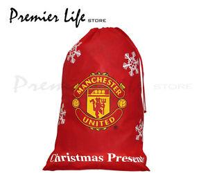 Manchester United Jumbo Christmas Stocking Present Sack | eBay